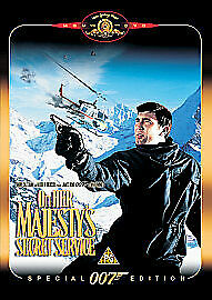 On Her Majesty's Secret Service DVD (2000) George Lazenby, Hunt (DIR) Cert PG • 2.42£
