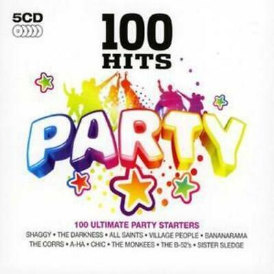 Various Artists : 100 Hits: Party CD 5 Discs (2008) Expertly Refurbished Product • 3.95£