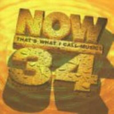 Various Artists : Now Thats What I Call Music! Vol. 34 CD FREE Shipping, Save £s • 2.42£