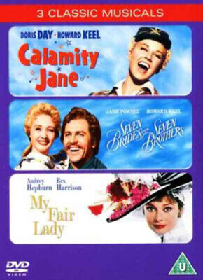 £4.31 • Buy Calamity Jane/Seven Brides For Seven Brothers/My Fair Lady DVD (2005) Audrey