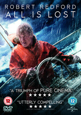 £2.04 • Buy All Is Lost DVD (2014) Robert Redford, Chandor (DIR) Cert 12 Fast And FREE P & P