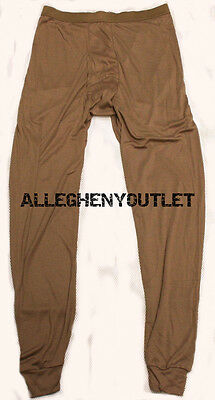 $10.90 • Buy US Military SILK WEIGHT THERMAL UNDERWEAR LWCWUS ECWCS PANTS Light Weight SMALL