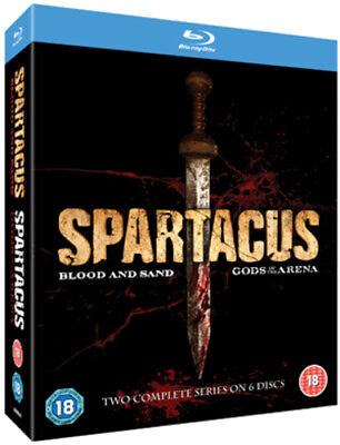 Spartacus - Blood And Sand: Series 1/Spartacus - Gods Of ... Blu-ray (2011) • 14.14£