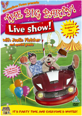 The Big Party! Live Show! With Justin Fletcher DVD (2011) Justin Fletcher Cert • 2.34£