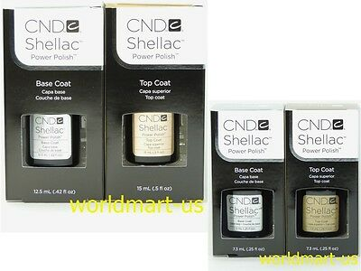 AU17.40 • Buy CND Shellac Gel Color UV Soak-Off Base /Top /Base & Top Coat /Choose Any Polish