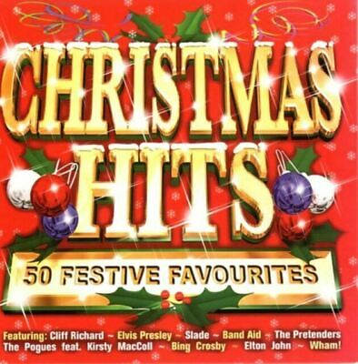 Elvis Presley : Christmas Hits: 50 Festive Favourites CD FREE Shipping, Save £s • 3.50£
