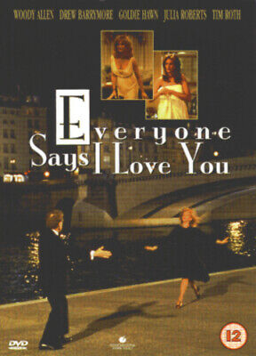 £3.98 • Buy Everyone Says I Love You DVD (2002) Woody Allen Cert 12 FREE Shipping, Save £s