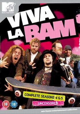 Viva La Bam: Seasons 4 And 5 DVD (2006) Bam Margera Cert 15 Fast And FREE P & P • 6.04£