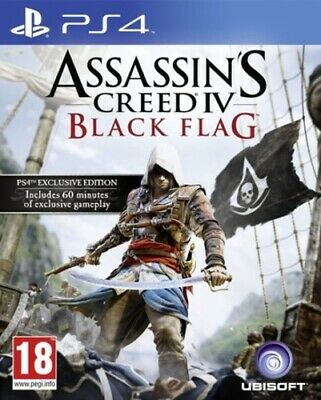 Assassin's Creed IV: Black Flag (PS4) PEGI 18+ Adventure: Free Roaming • 8.56£