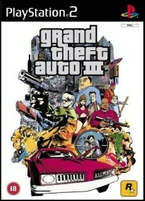 £2.99 • Buy Grand Theft Auto 3 (PS2) Adventure: Free Roaming Expertly Refurbished Product