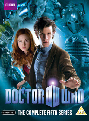 Doctor Who: The Complete Fifth Series DVD (2010) Matt Smith Cert PG 6 Discs • 5.98£
