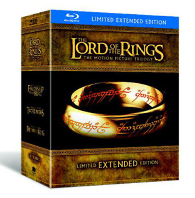 The Lord Of The Rings Trilogy: Extended Versions Blu-ray (2011) Elijah Wood, • 33.67£