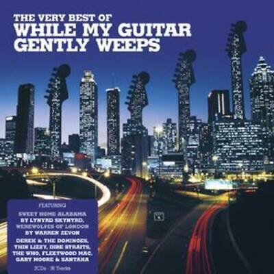 £2.33 • Buy Various Artists : Very Best Of While My Guitar Gently Weeps CD 2 Discs (2008)