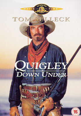 Quigley Down Under DVD (2003) Tom Selleck, Wincer (DIR) Cert 15 Amazing Value • 3.28£