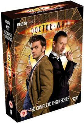 Doctor Who: The Complete Third Series DVD (2007) David Tennant, Lyn (DIR) Cert • 3.89£