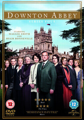 Downton Abbey: Series 4 DVD (2013) Maggie Smith Cert 12 4 Discs Amazing Value • 5.32£