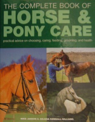 £1.90 • Buy Horse And Pony Care (Coffee Table Books) By Mike Janson & Juliana Kemball Willi