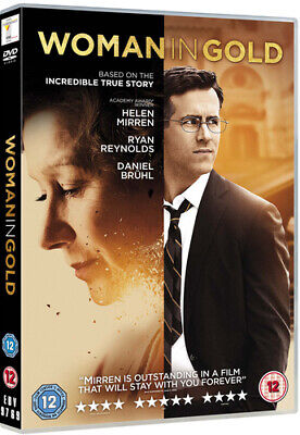 Woman In Gold DVD (2015) Ryan Reynolds, Curtis (DIR) Cert 12 Fast And FREE P & P • 2.14£