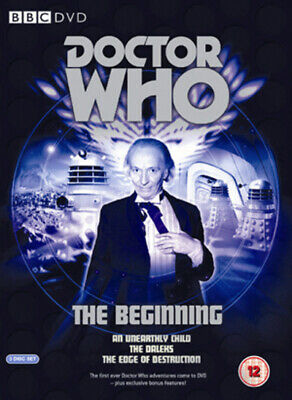 Doctor Who: The Beginning DVD (2006) William Hartnell Cert 12 3 Discs • 6.98£