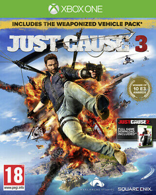 Just Cause 3 (Xbox One) PEGI 18+ Adventure: Free Roaming FREE Shipping, Save £s • 4.88£