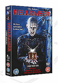 Hellraiser 1-3 Boxset [DVD] [1987] DVD Highly Rated EBay Seller Great Prices • 11.19£