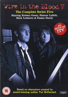 £2.34 • Buy Wire In The Blood: The Complete Series 5 DVD (2016) Robson Green Cert 15 2