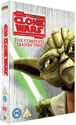 £6.94 • Buy Star Wars - The Clone Wars: The Complete Season Two DVD (2010) George Lucas