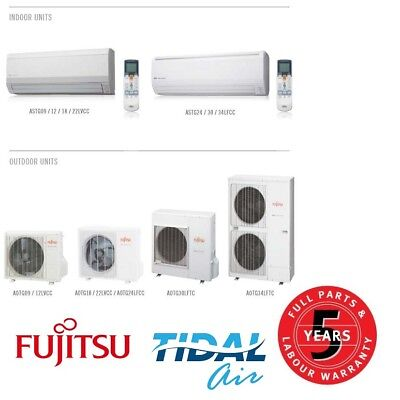 AU2199.99 • Buy Fujitsu 7.1KW Inverter Split Air Conditioner Supply And Install ASTG24LFCC
