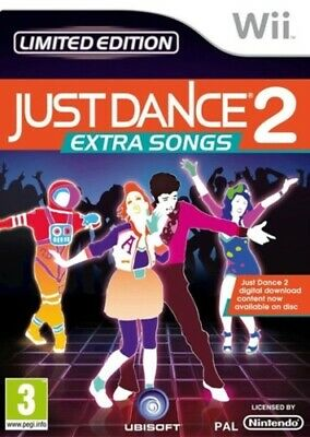 Just Dance 2: Extra Songs (Wii) PEGI 3+ Rhythm: Dance FREE Shipping, Save £s • 6.99£