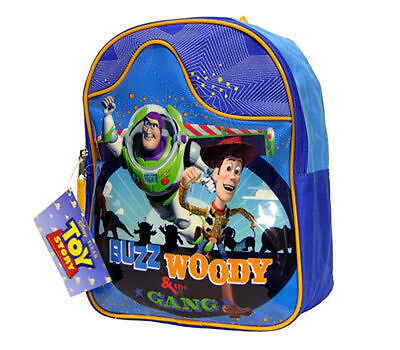 72b6a50c77c Backpack 11 Toy Story Buzz Woody   The Gang Blue Org New ...