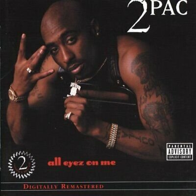 2 Pac : All Eyez On Me CD Value Guaranteed From EBay's Biggest Seller! • 9.32£
