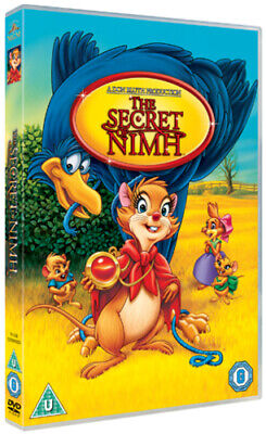 The Secret Of Nimh DVD (2012) Don Bluth Cert U ***NEW*** FREE Shipping, Save £s • 6.94£