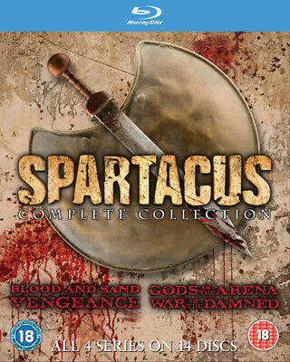 £38.95 • Buy Spartacus: The Complete Collection Blu-ray (2013) Andy Whitfield Cert 18 14