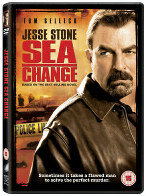 Jesse Stone: Sea Change DVD (2009) Tom Selleck, Harmon (DIR) Cert 15 Great Value • 3.98£