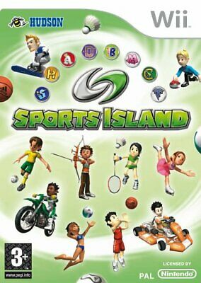 Sports Island (Wii) - Game  HKVG The Cheap Fast Free Post • 5.78£