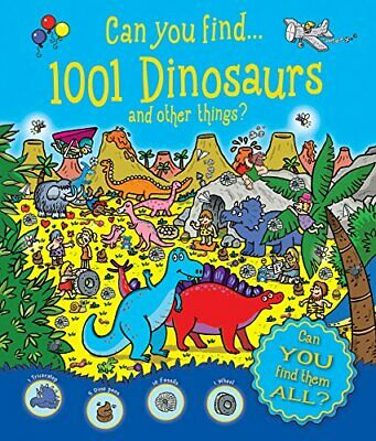 Who's Hiding: Can You Find 1001 Dinosaurs & Other Things By Igloo Books Ltd The • 4.49£