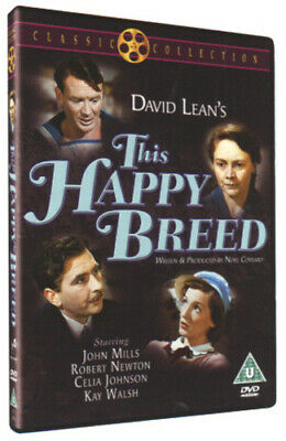 This Happy Breed DVD (2003) Robert Newton, Lean (DIR) Cert U Fast And FREE P & P • 9.98£