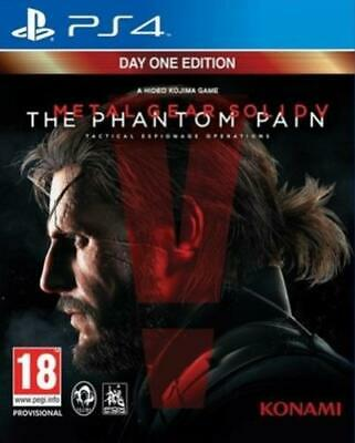 £5.02 • Buy Metal Gear Solid V: The Phantom Pain: Day One Edition (PS4) PEGI 18+ Strategy: