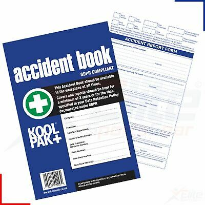 £5.75 • Buy Accident Report Book - HSE 50 Pages A4 Sheet - Business Or School Injury Log