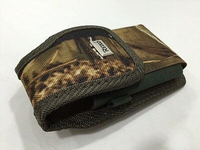 $8.95 • Buy Black Camo Nylon Belt Clip Loop Big Pouch For Phone With Thick Case On