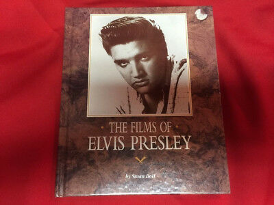 The Films Of Elvis Presley Hardcover Copyright 1991 By Susan Doll • 5.70£