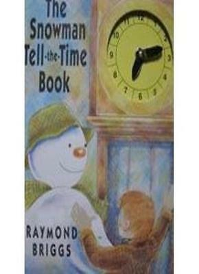 £1.96 • Buy The Snowman Tell The Time Book By Raymond Briggs