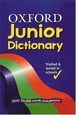 OXFORD JUNIOR DICTIONARY Hardback Book The Cheap Fast Free Post • 4.49£