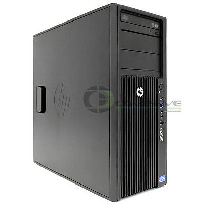 $ CDN2467.65 • Buy HP Z420 Workstation Intel E5-1620 3.6GHz 12GB 1TB HDD Nvidia Quadro K5000