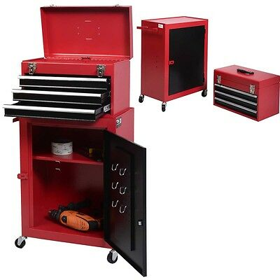 View Details FDS Rolling Tool Chest Box Cabinet Storage Drawer Toolbox Garage Mechanic • 62.99£