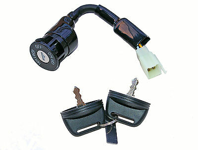 Aeon Quad Ignition Switch - 6 Wires, 2 On Positions - Male Pins • 16.45£