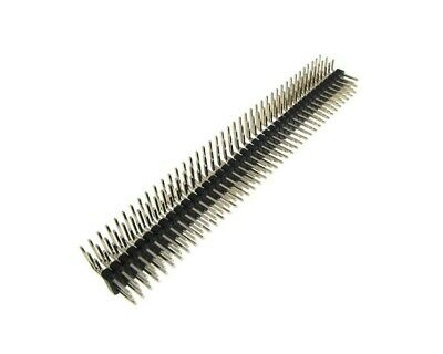 $1.99 • Buy 3x40 Pin 2.54mm Triple Row Straight Male Header Right-angle - Black