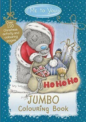 Anker Me To You X-Mas Jumbo Colouring Books By TheWorks Book The Cheap Fast Free • 23.99£