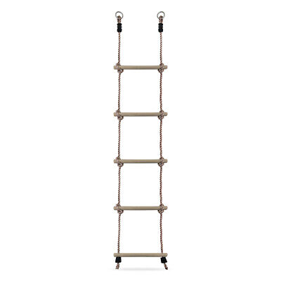 £10.99 • Buy Kids Rope Ladder For Childrens Outdoor Climbing Frame And Tree House
