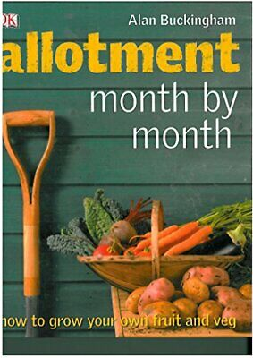 £6.49 • Buy ALLOTMENT MONTH BY MONTH Book The Cheap Fast Free Post